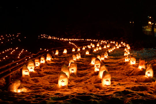湯西川温泉かまくら祭り