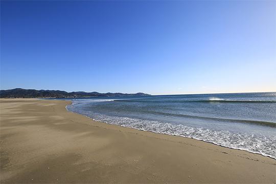 入野の浜(入野海岸)