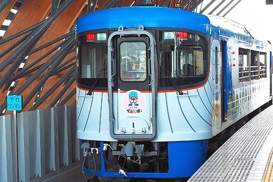 オープンデッキ型観光列車「しんたろう号・やたろう号」
