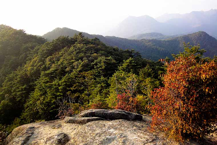 昇仙峡の展望