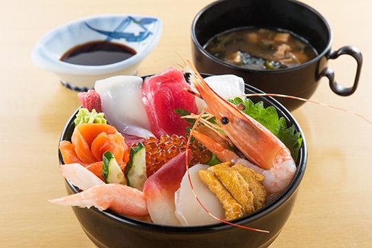 レストラン四季亭 松島ぜいたく丼
