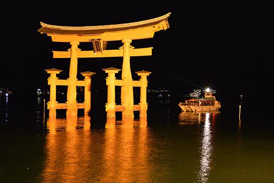 宮島参拝遊覧船