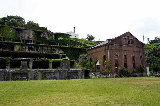 佐渡金山遺跡(北沢浮遊選鉱場跡)