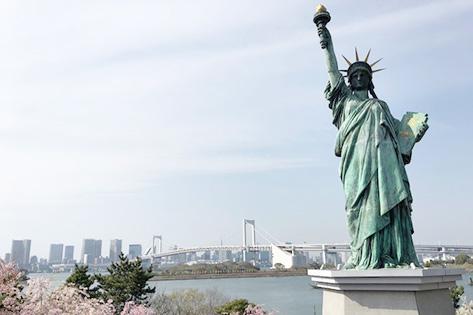 自由の女神像(台場の女神)