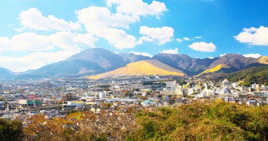 鶴見岳展望台