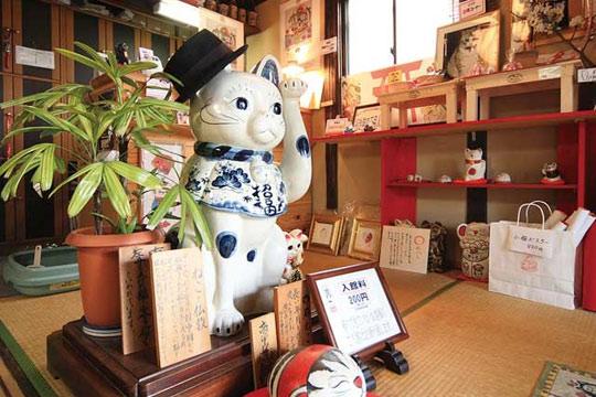 招き猫美術館 in 尾道