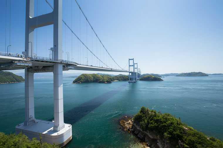 来島海峡大橋・来島海峡展望館