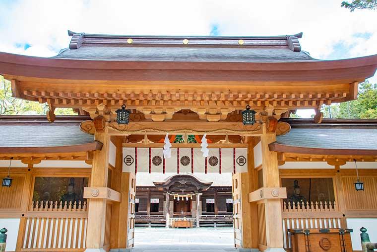 しまなみ海道 大山祇神社