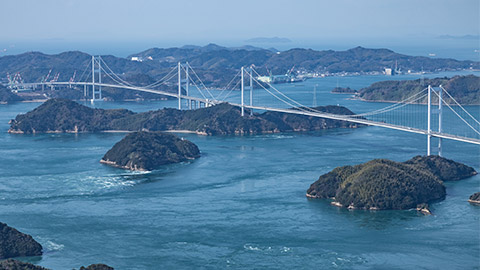 瀬戸内しまなみ海道のおすすめ観光&グルメ