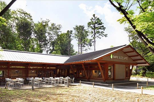 上野の森PARK SIDE CAFE