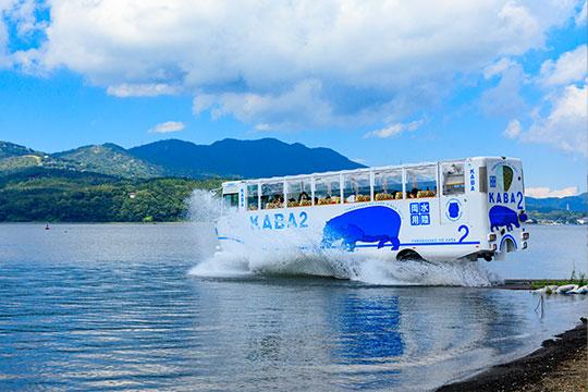 水陸両用バス - KABA BUS