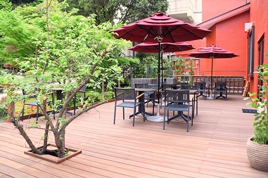 and garden museum café