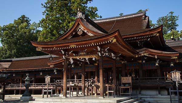 多賀大社(拝殿)