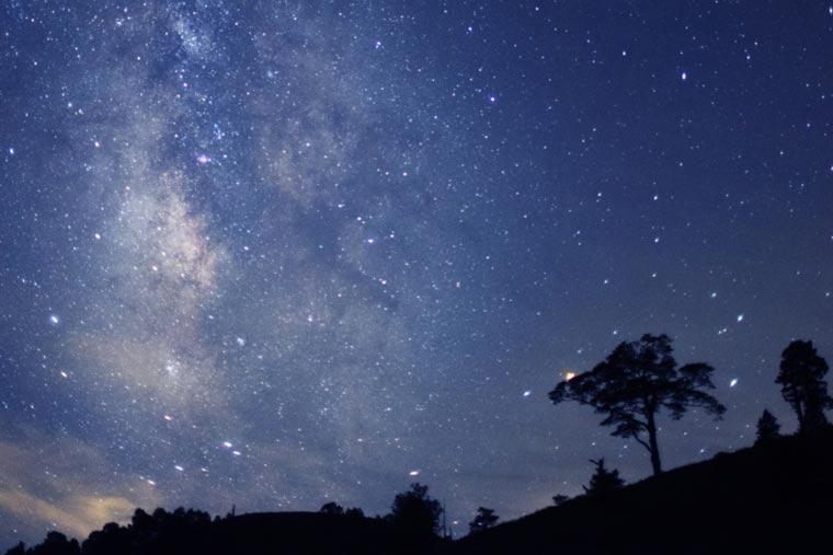 阿智村の星空(画像提供元:阿智☆昼神観光局)