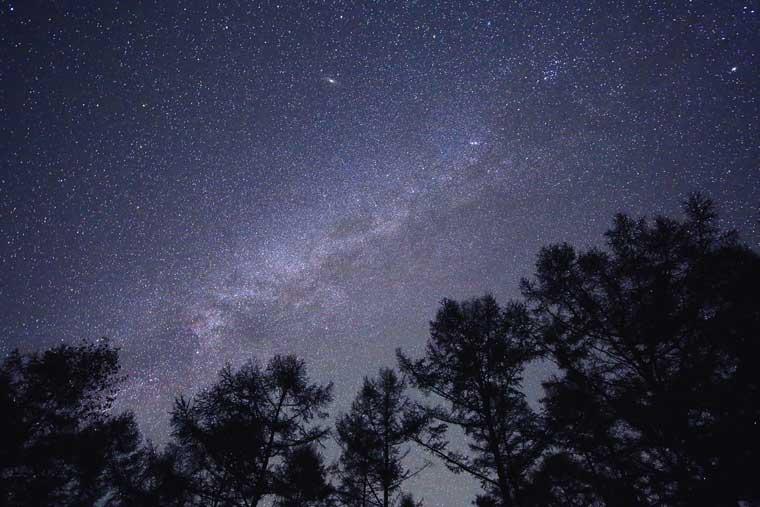 八ヶ岳の星空 (画像提供元:(一社)八ヶ岳ツーリズムマネジメント)
