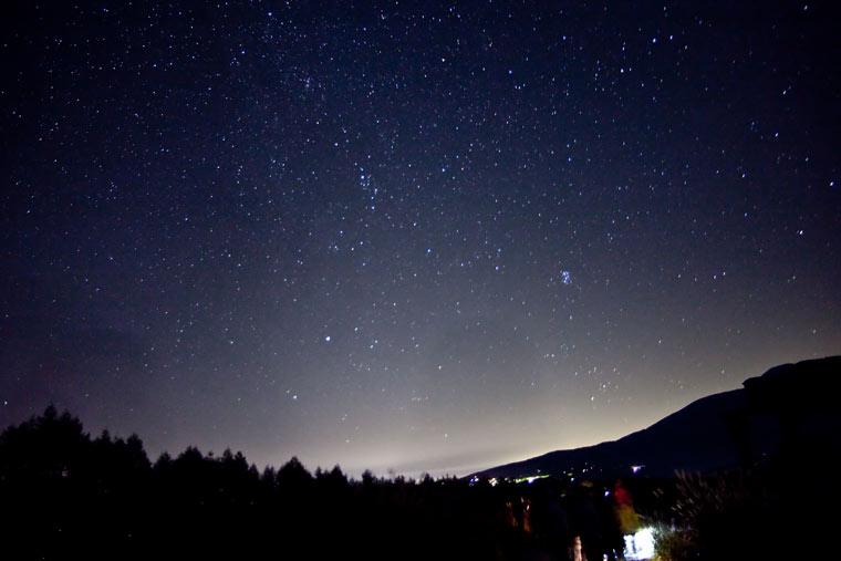 車山高原の星空(画像提供元:長野県)