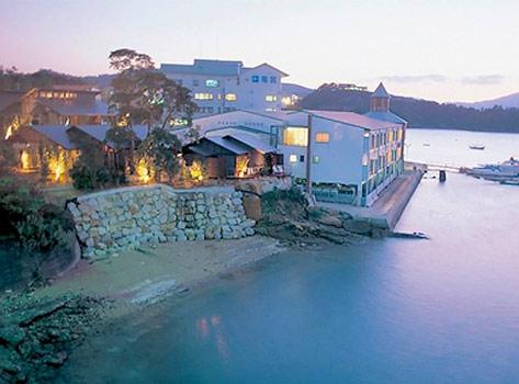 松島温泉 海のやすらぎ ホテル竜宮の外観