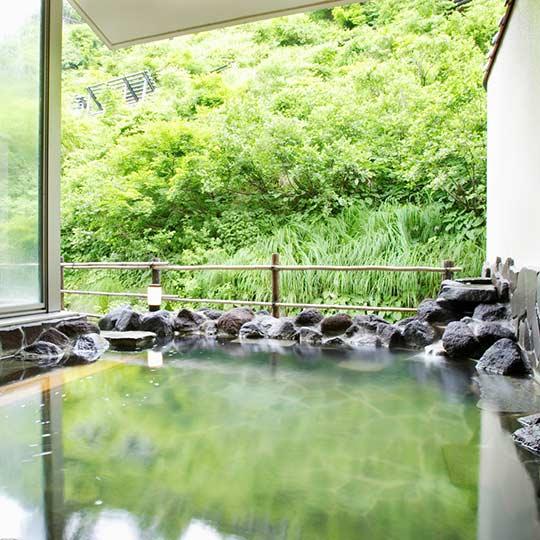 松之山温泉 酒の宿 玉城屋 露天風呂
