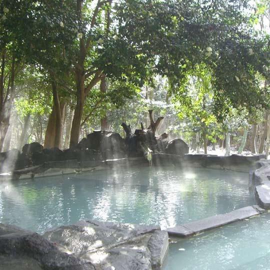 霧島温泉 霧島 旅行人山荘 赤松の湯