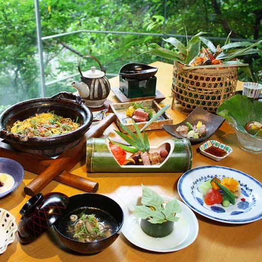妙見石原荘 夕食