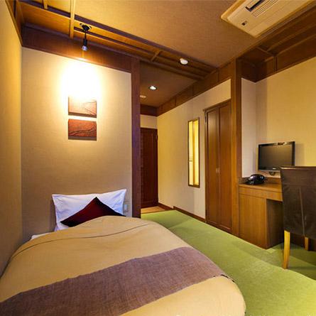女性一人旅におすすめの温泉宿。四万温泉 柏屋旅館 シングルルーム