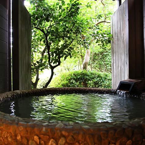 女性一人旅におすすめの温泉宿。熊本県 阿蘇内牧温泉 蘇山郷 温泉