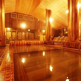 女性一人旅におすすめの温泉宿。秋田県 新玉川温泉 大浴場