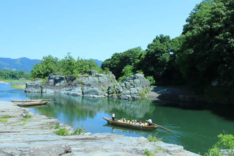 長瀞の川下り