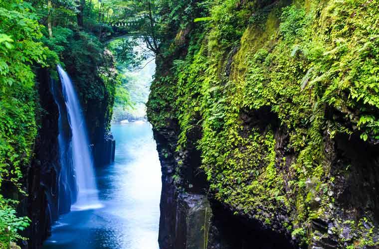 宮崎県 高千穂峡・真名井の滝