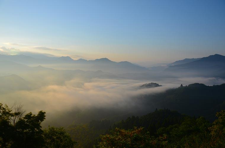宮崎県 国見ヶ丘の雲海