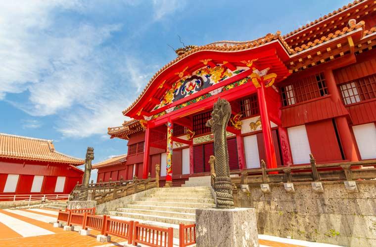 沖縄県 首里城の正殿