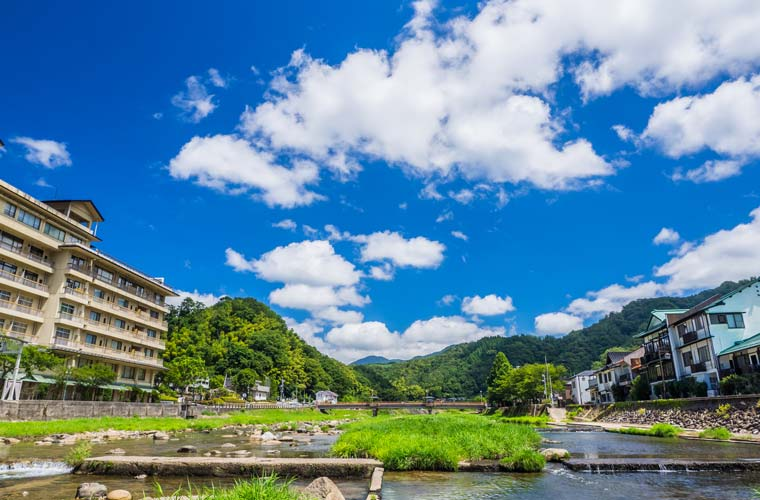 鳥取県 三朝温泉