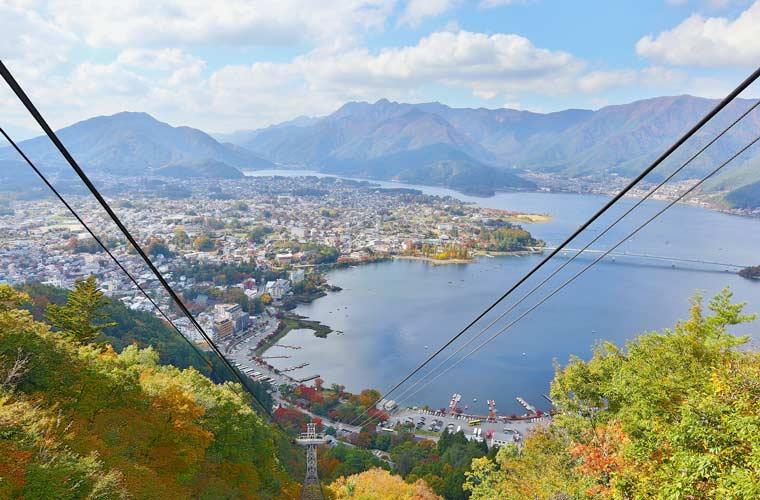 山梨県 ~河口湖~ 富士山パノラマロープウェイ