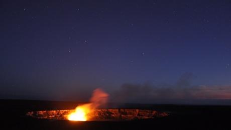 ハワイ火山国立公園(キラウエア火山)