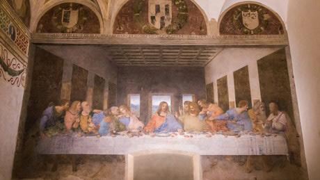 レオナルド・ダ・ヴィンチの「最後の晩餐」があるサンタ・マリア・デッレ・グラツィエ教会とドメニコ会修道院