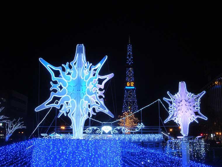 さっぽろホワイトイルミネーション(北海道)