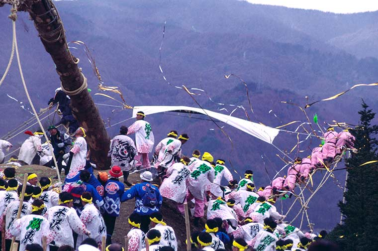 諏訪大社 御柱祭(長野県)