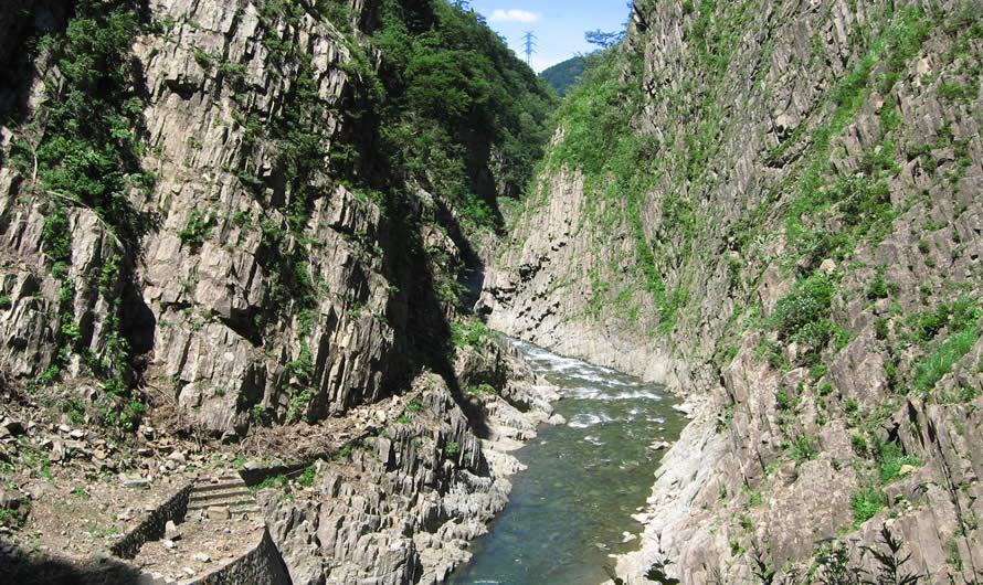 Gorge Kiyotsu (préfecture de Niigata)
