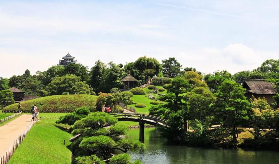 Koraku-en (préfecture d'Okayama)