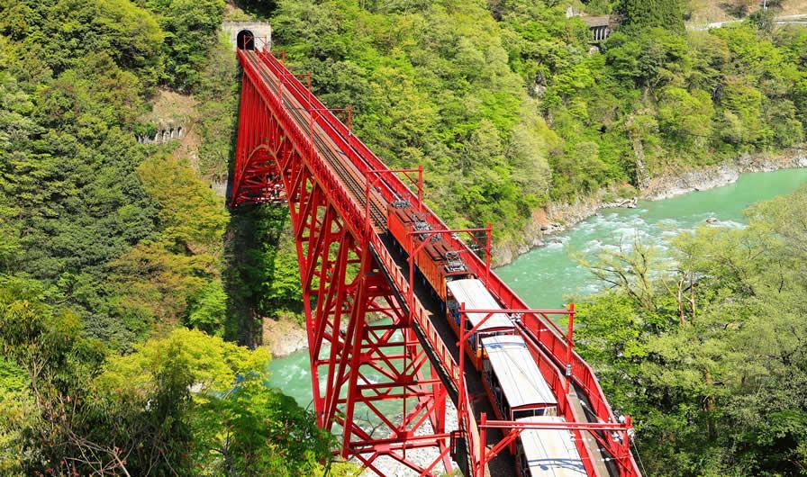 Gorge Kurobe (préfecture de Toyama)
