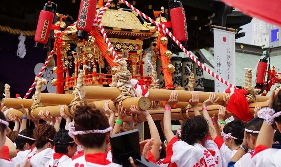 Tenjin Matsuri (préfecture d'Osaka)