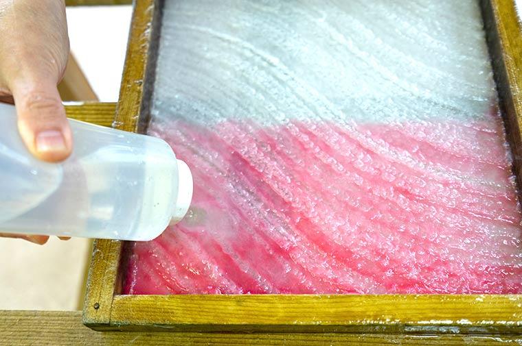 和紙を作る