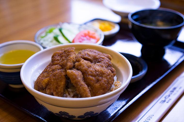 ソースカツ丼(ヨーロッパ軒総本店)
