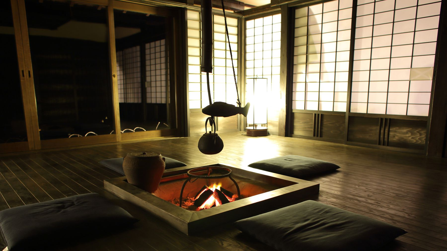 6 traditional japanese guest houses that will steal your heart for Asian houses photos