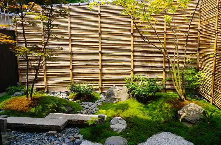 京の温所 岡崎の庭