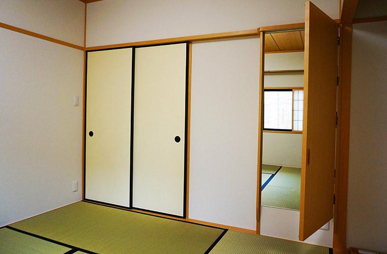京の温所 岡崎の2階の和室