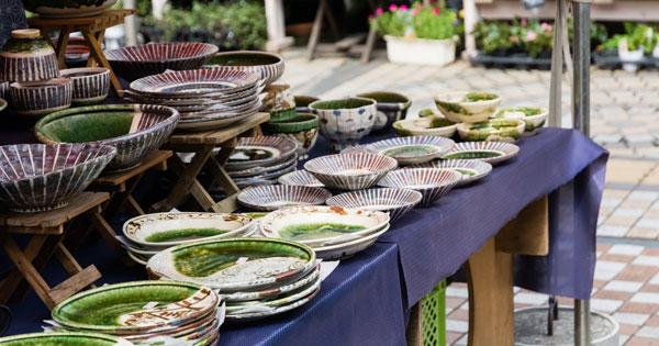 全国の陶器市・陶器祭りまとめ