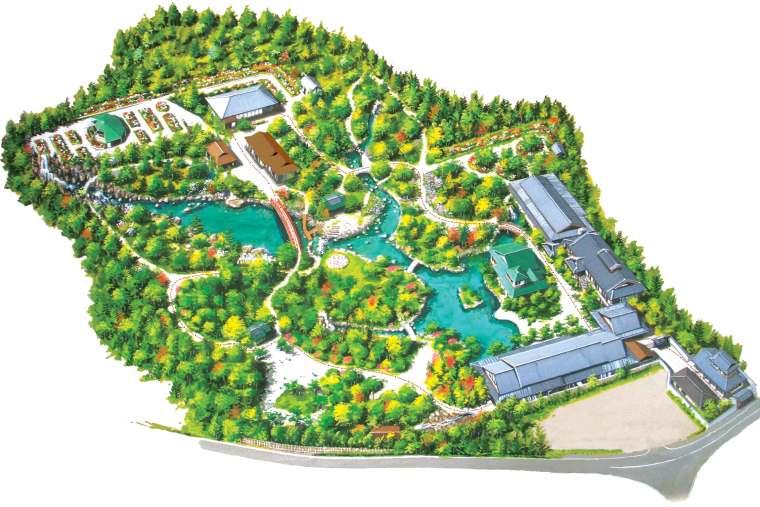 由志園のマップ