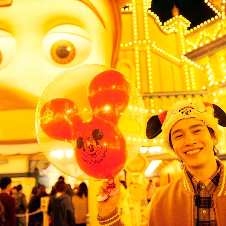 ディズニークリスマス  東京ディズニーシー  鈴木康介