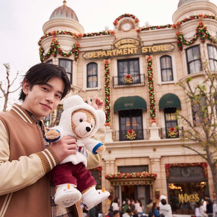 ディズニークリスマス 鈴木康介 ダッフィー 東京ディズニーシー